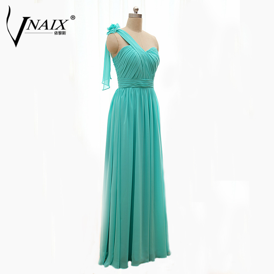 Compare prices on bridesmaid dresses wrap online shoppingbuy low vnaix b3000 real image wraps one shoulder sweetheart a line turquoise long bridesmaid dress 2015 cheap ombrellifo Choice Image