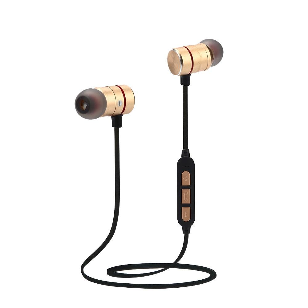 3.5mm In Ear Oortelefoon Bass Stereo Universele Draadloze Oordopjes Bluetooth V4.2 Stereo Oortelefoon Magneet Sport Headset Handsfree Z75 Gemakkelijk Te Smeren