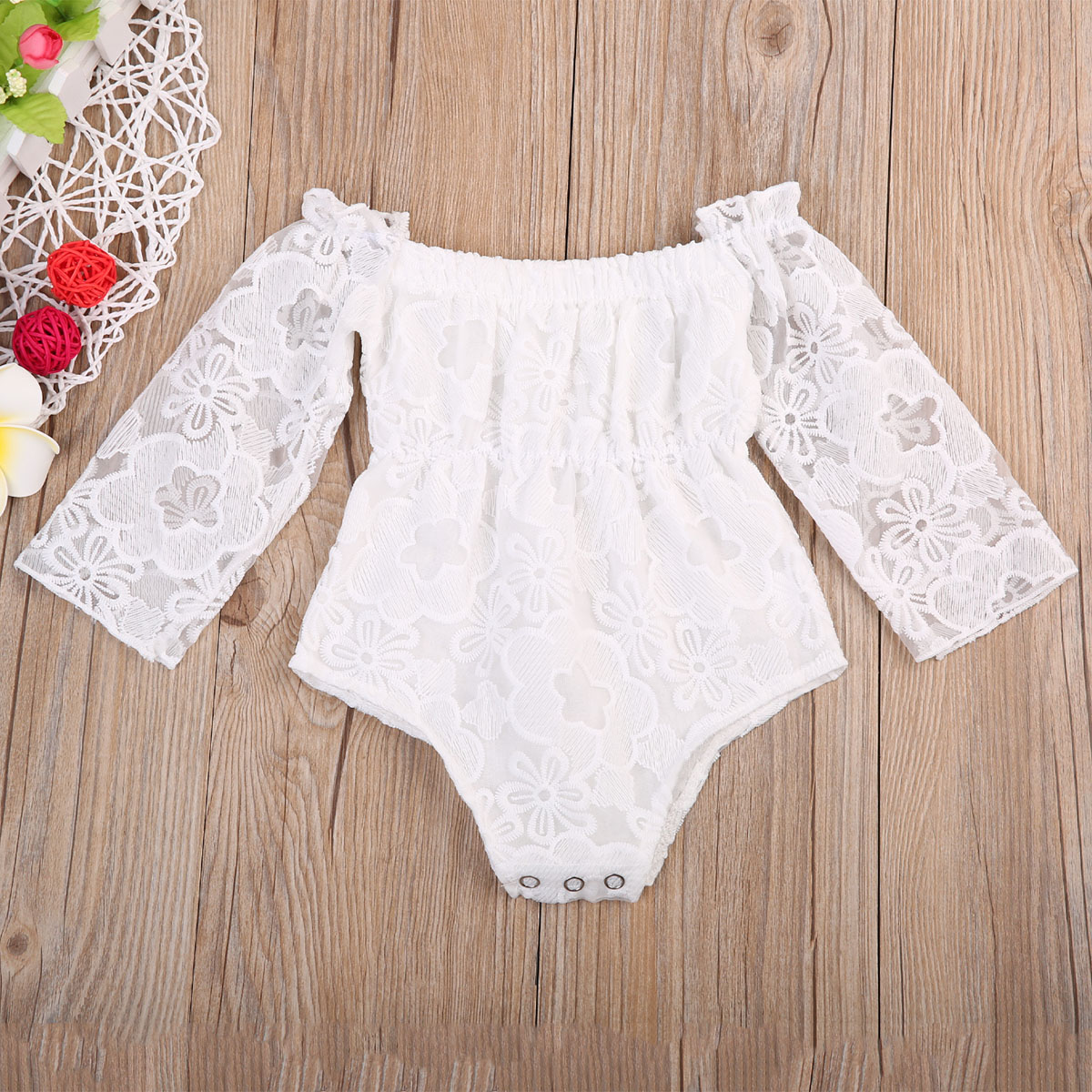 Adorable Summer Newborn Toddler Baby Girl's Clothes Lace Romper Jumpsuit Playsuit Sunsuit Infant Kids Girls Outfits 0-24M summer newborn infant baby girl romper short sleeve floral romper jumpsuit outfits sunsuit clothes