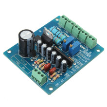 New AC 12V Stereo VU Meter Driver Board Amplifier DB Audio Level Input Backlit