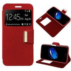 На Алиэкспресс купить чехол для смартфона stand case book lapel for alcatel 3 2018/3l red