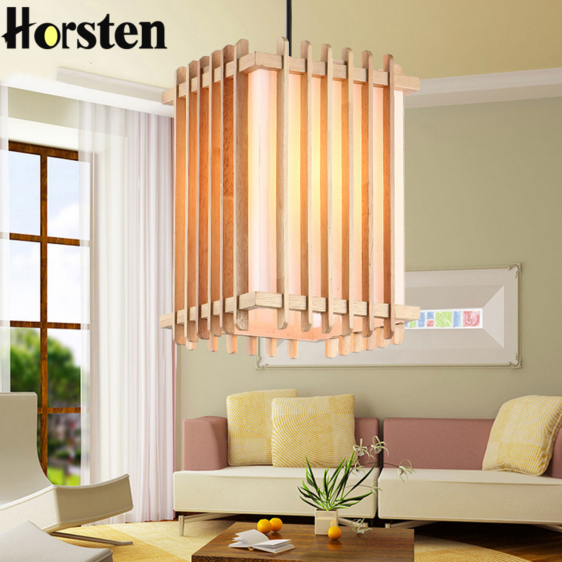 Horsten Nordic Pendant Lamp OAK Wooden Pendant lights For Home Lighting Hanging Wood Pendant Light Restaurant Retro Fixtures E27 denmark antique pinecone ph artichoke oak wooden pineal modern creative handmade wood led hanging chandelier lamp lighting light