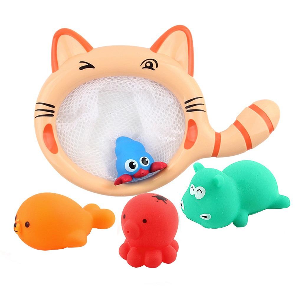 HIINST bathroom toy 2017 cute Baby Kids Bathing sea cheap Toys Wash Play Cartoon blue Pull Educational Toys*R Drop