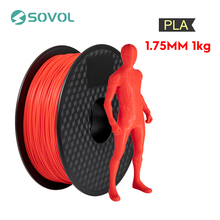 Sovol Filament 1 75mm PLA 1KG Roll High Quality Plastic Colorful 3D Printing Material Compatible with