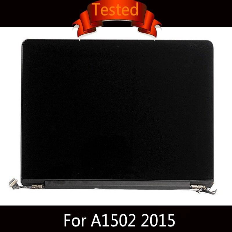 Probado A1502 montaje de pantalla LCD para Macbook Retina 13 completo A1502 Pantalla Completa brillante principios de 2015 MF839 MF840 M841