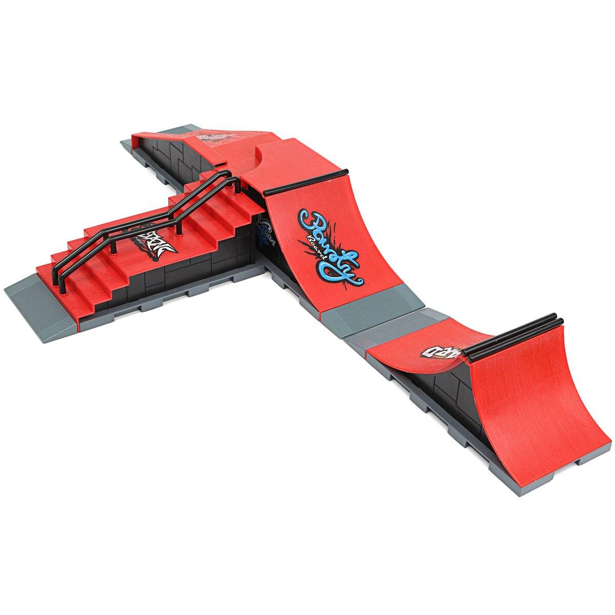 Novelty & Gag Toys Toys & Hobbies Skate Park Ramp Parts For Fingerboard Finger Board Ultimate Parks Ramp f Style