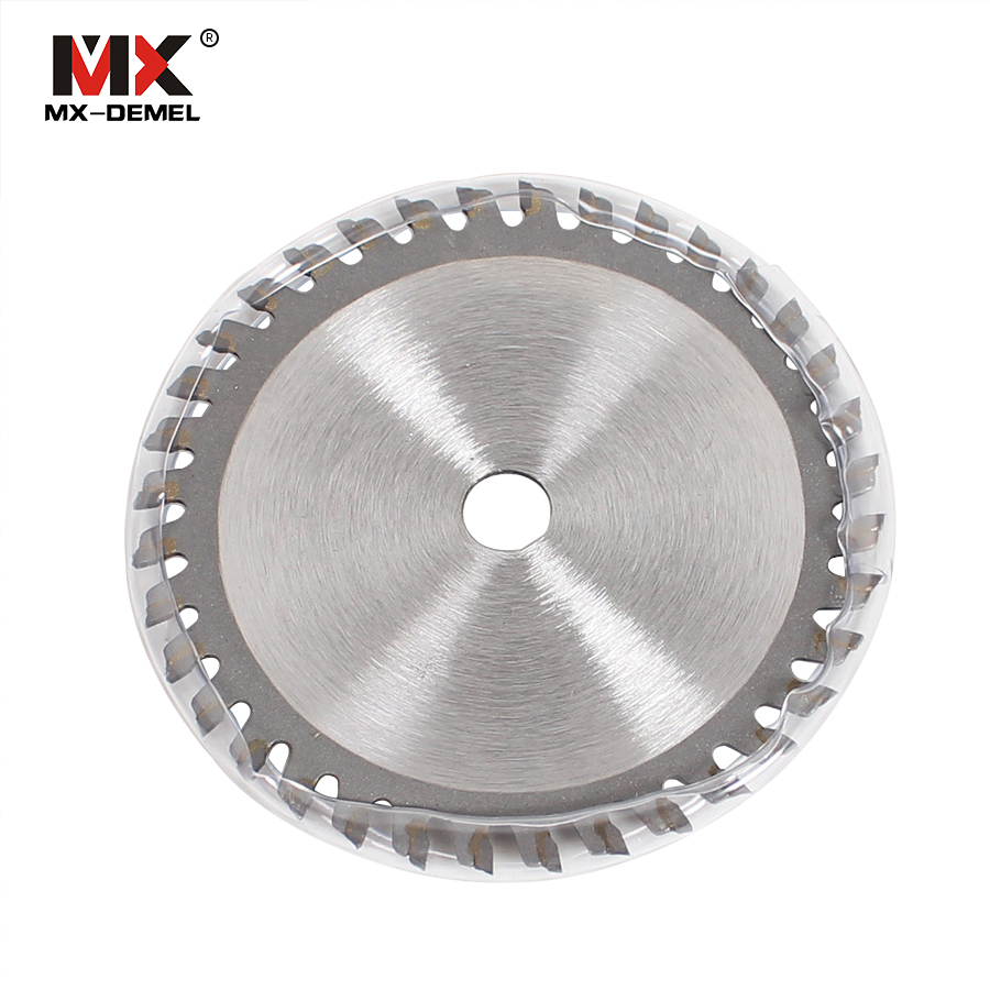 MX-DEMEL 36 T TCT Tungsten Carbide Mini Circular Saw Blade for Wood Cutting Power Tool Accessories circular saw blade mini saw 12 72 teeth 300mm carbide tipped saw blade with silencer holes for cutting melamine faced chipboard free shipping g teeth