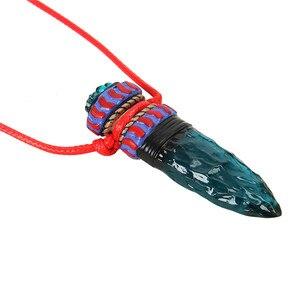 Аниме Takerlama, маскарадная принцесса Mononoke Hime Amulet, ожерелье с подвеской в виде Синего Волка, клыки, реквизит для косплея, высокое качество