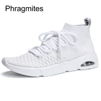 Phragmites aircushion simple design stock shoes students running shoes factory cheap mens shoes cool European sneakers men tenis