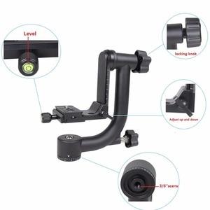 Image 4 - YELANGUแนวนอน360องศาPanoramic G Imbalหัวขาตั้งกล้องสำหรับNikon Canonโซนี่ซัมซุงกล้องดิจิตอลSLRและบ้านDV