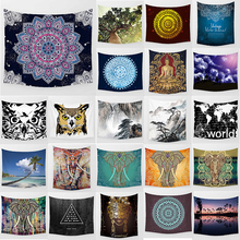 Unicorn tapestry mandala elephant  wall hanging tapestry home decoration large rectangle bedroom wall tapestry home decor elephant print wall hanging tapestry
