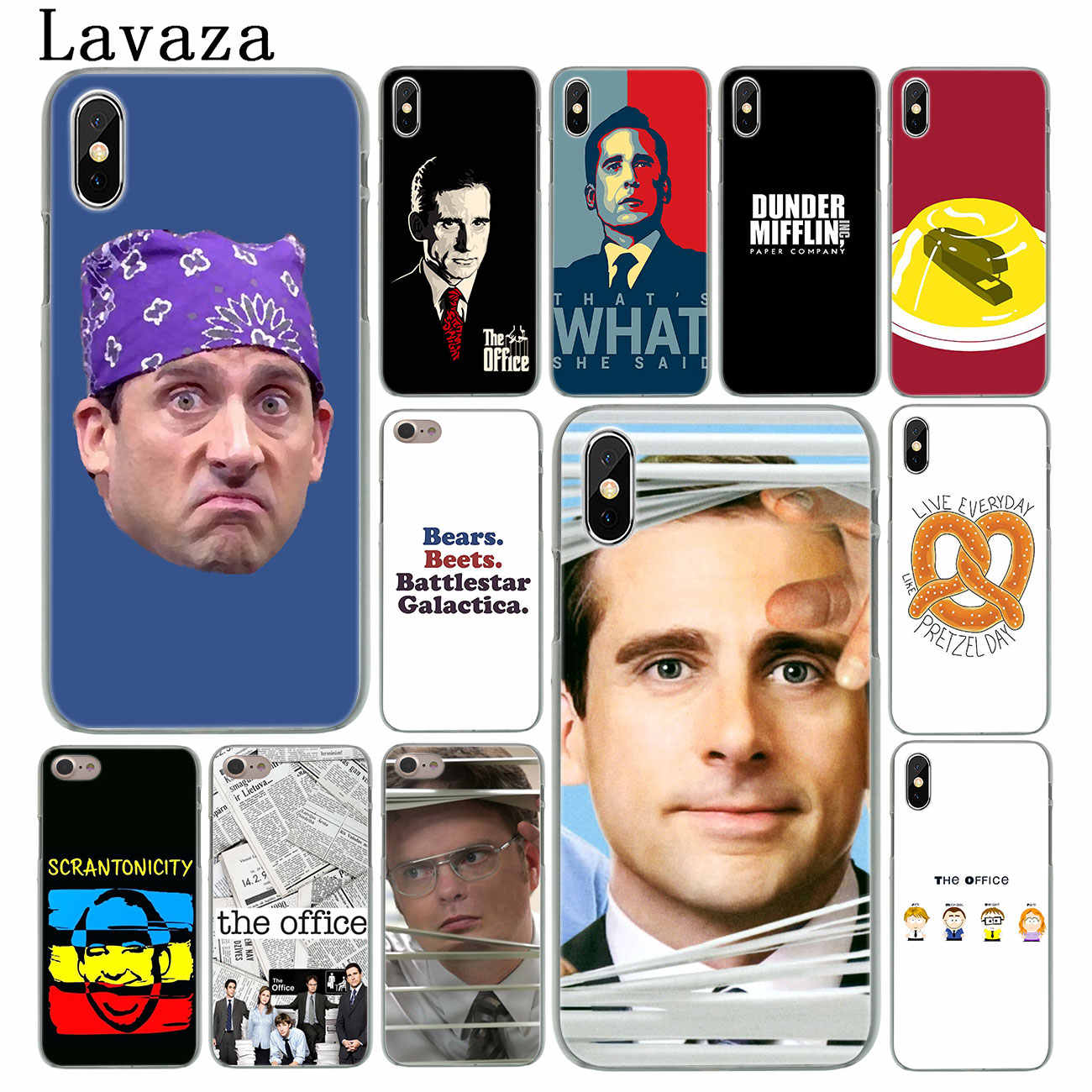 outlet store 6b431 29723 Lavaza TV the office cast meme Hard Phone Cover Case for Apple iPhone XS  Max X XR 6 6S 7 8 Plus 5 5S SE 5C 4S 10 Cases