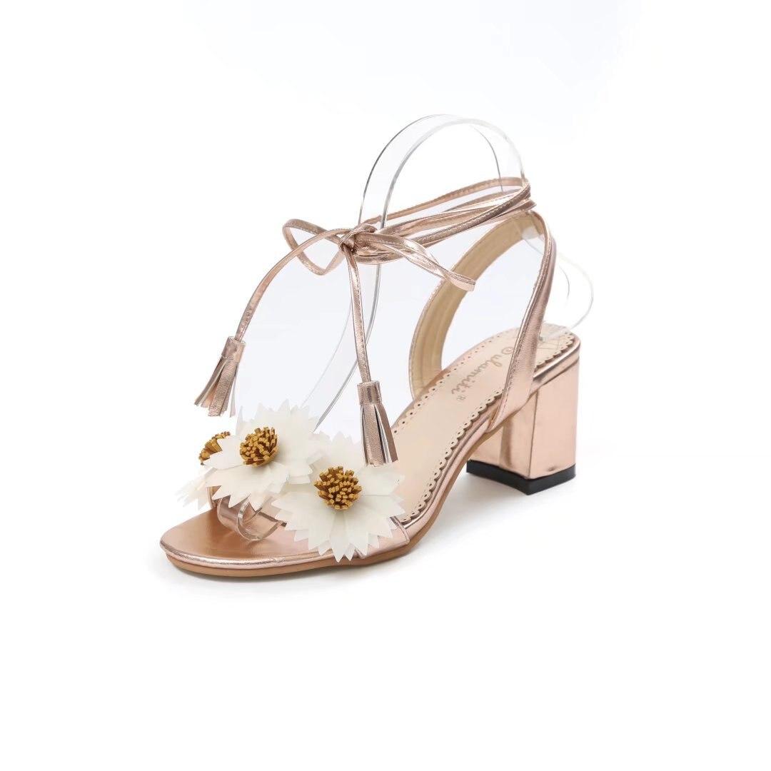 Shoes Women Sandals Summer Sandales Femme 2018 Nouveau A -9237