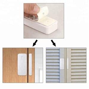 Image 5 - Wifi sensor de porta de entrada aberta alerta detector de segurança em casa controle remoto alexa casa do google