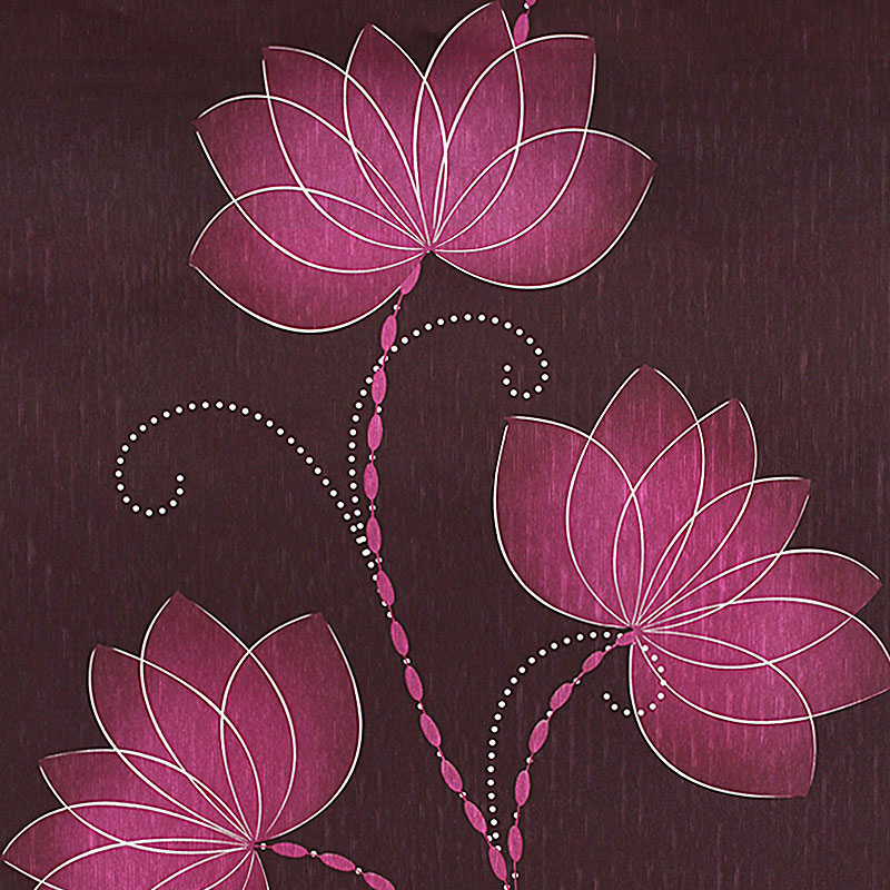 Aliexpress.com : Buy Chinese Retro Lotus Flower Wallpaper