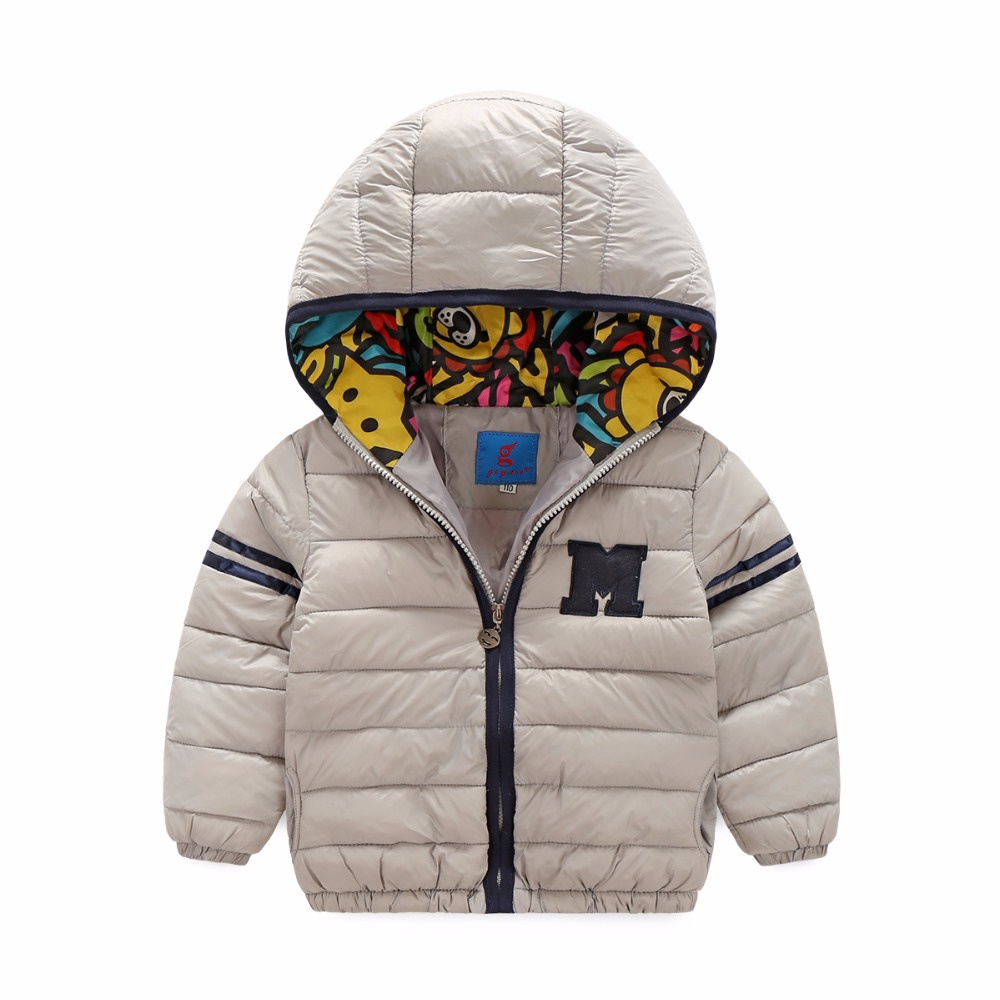 Boys Winter Coat Kids Clothes Baby pokemon long sleeve hooded warm child boy outwear jacket coats cartoon printed