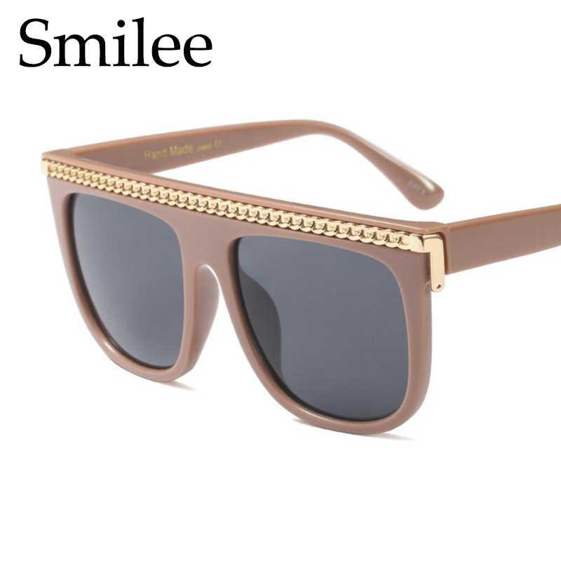 207bf9d9c0 ... Oversized black sunglasses fashion square frame flat top sun glasses  for men big shades retro sunglass