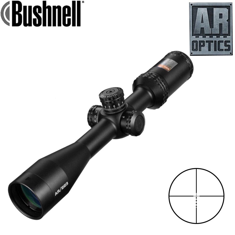 4.5-18x40 Ar Optique Drop Zone-223 Réticule Tactique de Tir Avec Cible Tourelles de Chasse Scopes Pour fusil de Sniper