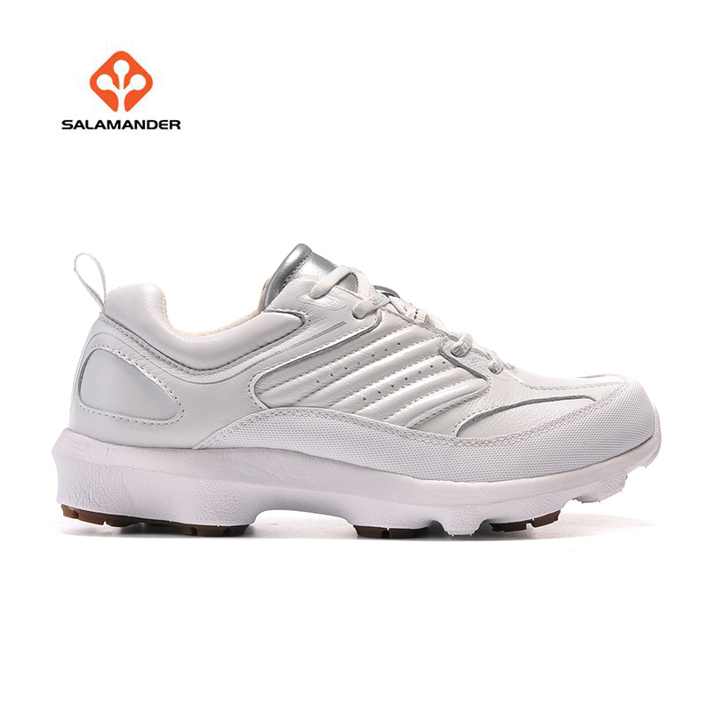 SALAMANDER Women's Winter Outdoor Hiking Trekking Sneakers Shoes For Women Leather Climbing Mountain Shoes Sneakers Woman new women hiking shoes outdoor sports shoes winter warm sneakers women mountain high tops ankle plush zapatillas camping shoes