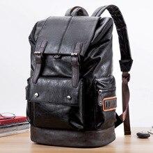 Korean mens casual  shoulder backpack fashion travel backpackbag