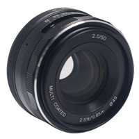 Meike MK 50mm P Large Aperture Manual Multi Coated Focus Lens APS C For Olympus Panasonic