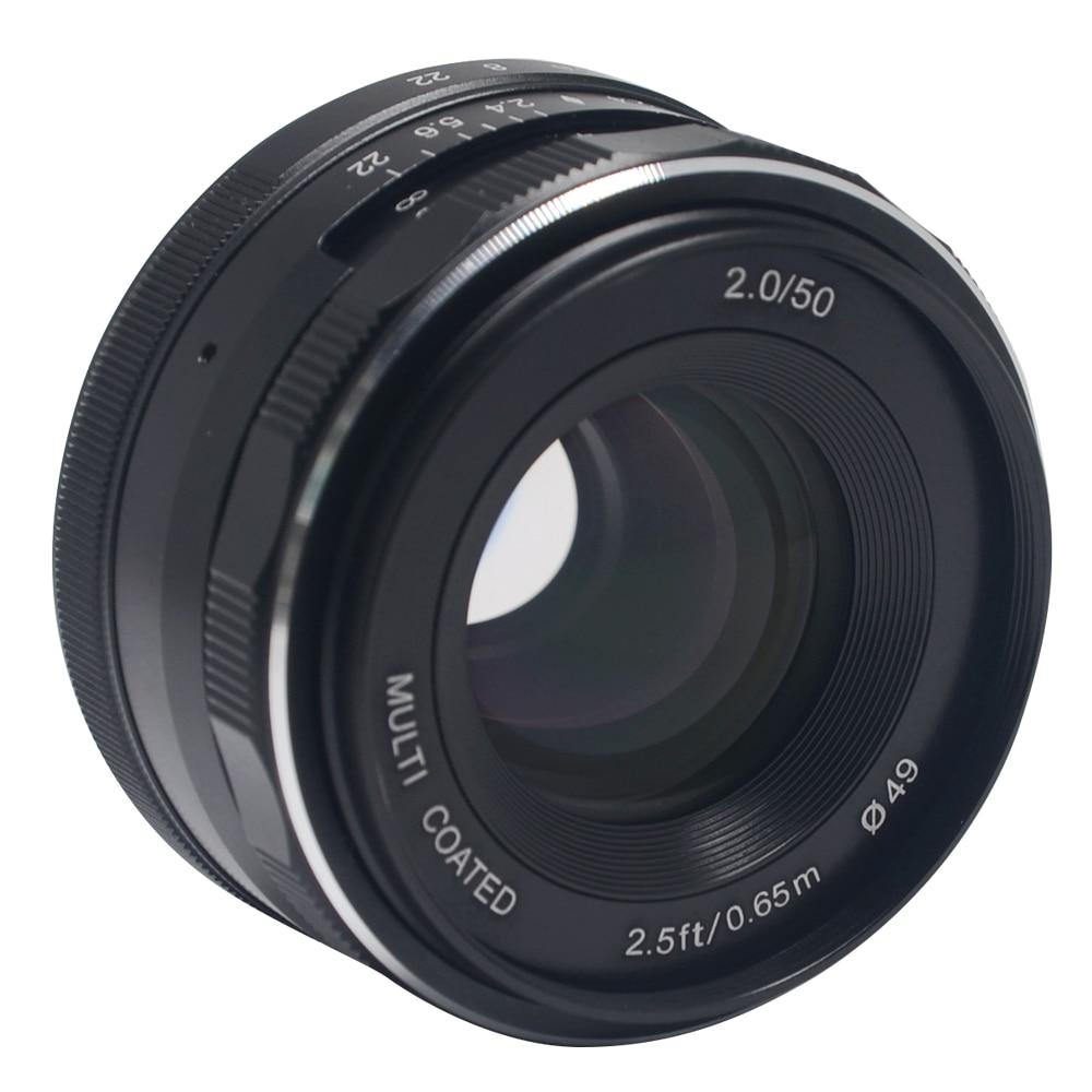 Meike MK-50mm -P large Aperture Manual Multi Coated Focus lens APS-C for Olympus Panasonic Lumix GM1 GM2 GX1 GX2 GX7 GX8 GF5 GF6 meike mk 4 3 50 2 0 50mm f 2 0 large aperture manual focus lens aps c for 4 3 system mirrorless cameras for olympus panasonic