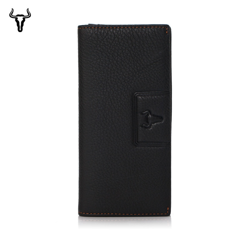 Mingclan 2018 Luxury Brand Men Long Wallets Rfid Purse Wallet Women Clutch Leather Wallet Business Traval Wallet Card Holder Bag