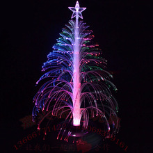 2pcs Romantic Sleep Light Colorful Changing LED Christmas Tree Gift Table Decor Supplies Novelty Gag Light