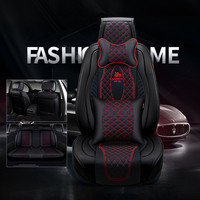 New 3D Sports Car Seat Cover Universal Cushions Top Leather Car Styling For BMW Audi Toyota