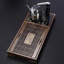 Поднос для чая из массива дерева два в одном автоматическая
