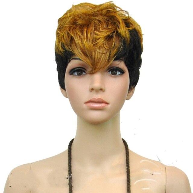 blonde black