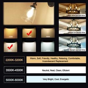 Image 3 - GANRILAND 12V 24V אור הנורה St58 E27 Led Bulab אור יום לבן 4500k נמוך מתח 6W אדיסון 12V Led מנורת בציר חם לבן 2700K