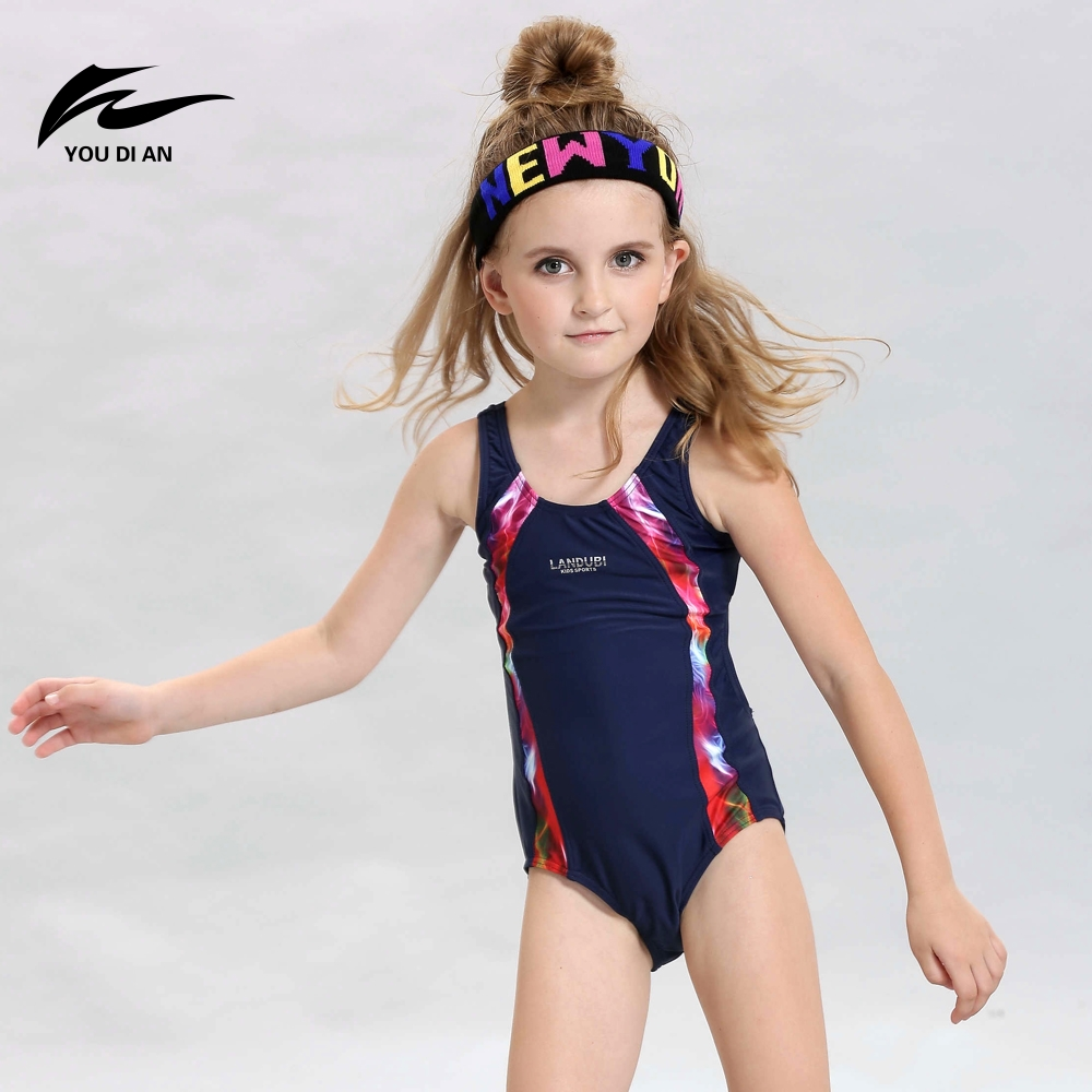Children One-Piece Swimsuit Little Girl Swimwear Children Learn to Swim Professional Swimwear Kids Swimming Suit for Child Gifts one piece mexican bola cage cell little girl harmony angel caller sound bell necklace