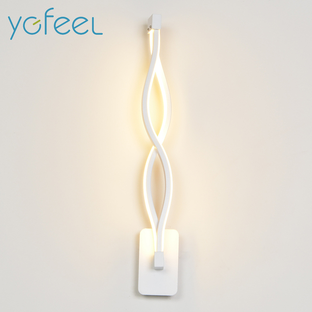 [YGFEEL] 16W LED Wall Lamp Modern Bedroom Beside Reading Wall Light Indoor Living Room Corridor Hotel Room Lighting Decoration