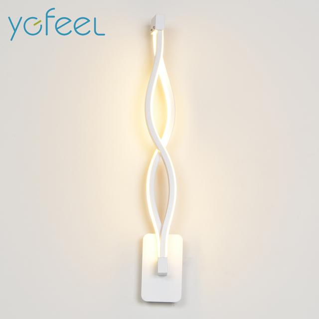 [YGFEEL] 16W LED Wall Lamp Modern Bedroom Beside Reading Wall Light Indoor Living Room Corridor Hotel Room Lighting Decoration
