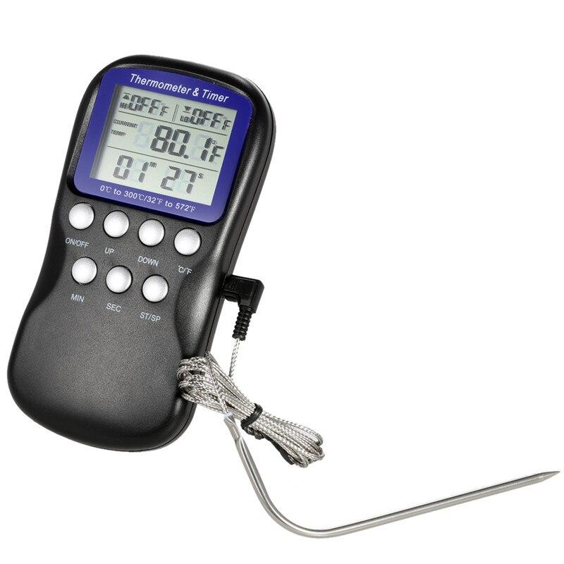 Датчик для измерения температуры мяса барбекю барбекю готовые железобетонные