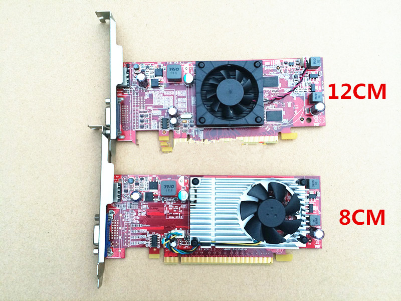For Lenovo Graphics Card HD4350 G405 Real 512M VGA + HDMI 1080P HD Hard Solution Full Height Half Height image