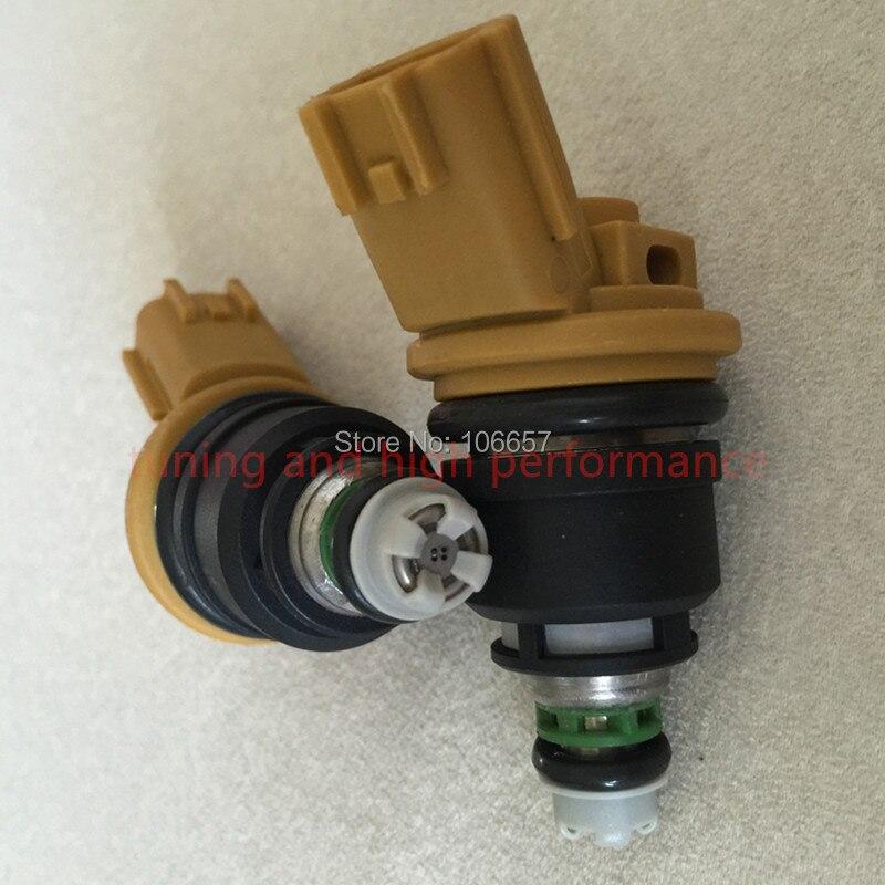 555CC vysoce výkonný vstřikovač paliva na straně nismo 16600-RR543 žlutý pro nisaan 300ZX Z32 RB25DET VG30DETT SR20DET KA24
