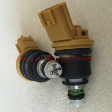 555CC high performance nismo side feed fuel injector 16600-RR543 yellow for nisaan 300ZX Z32 RB25DET VG30DETT SR20DET KA24