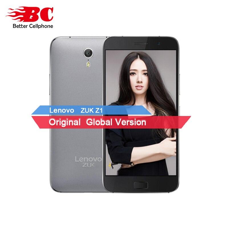 Original New Lenovo ZUK Z1 4G LTE Mobile phone Quad Core 2 5GHz 3G RAM 64G