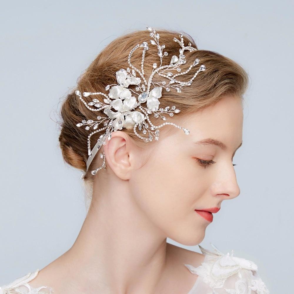 Wedding Headpiece For 2018: Aliexpress.com : Buy Crystal Spray Bridal Headpiece 2018