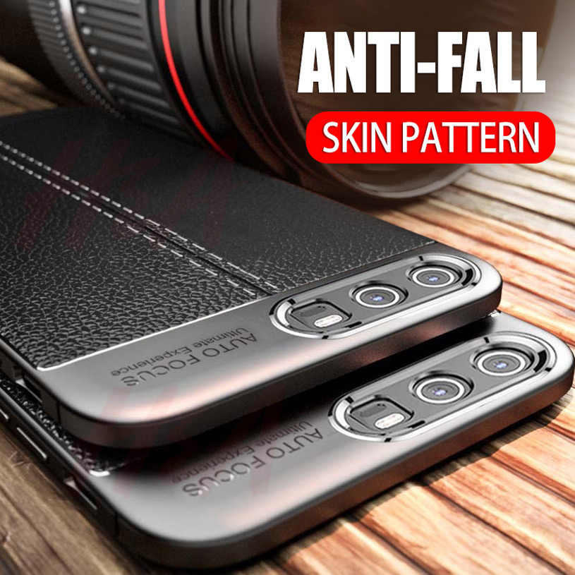 H&A Luxury Leather Pattern Case For Huawei Nova 4 3 3i 3e 2i 2s Shockproof TPU Slim Cover Y5 Y6 Y7 Prime 2018 Phone Case Fundas
