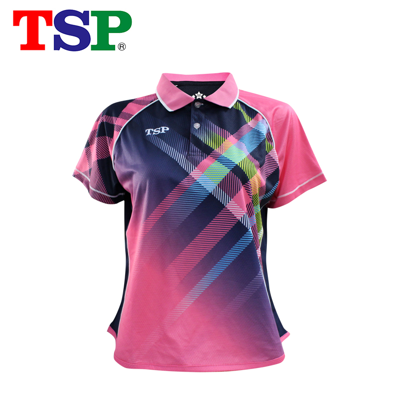 TSP Table-Tennis-Jerseys Ping-Pong T-Shirts Women for Training Cloth Short-Sleeve Sportswear