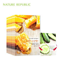 Nature Republic korean Skin Care Sheet Mask Royal Jelly Facial Mask Moisturizing Oil Control Whitening Face Mask