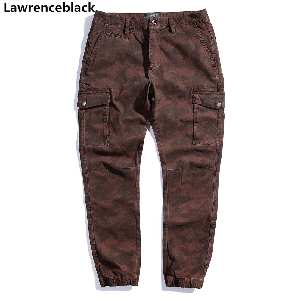 Lawrenceblack Casual Pants Men 2018 Hot Sale army pants man camouflage pantalon homme hip hop sweatpants military clothing 1238