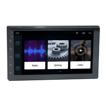 1Set Universal 7Inch Touch Screen Car Radio Multimedia Video MP5 Player Bluetooth GPS Map Navigator Auto Stereo Device