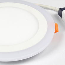 TSLEEN Cheap!2W 3W 4W 6W 12W 18W Led DownLight Lamp 220V 110V Ceiling Dual Color Surface Mounted Recessed Round Square Led Panel