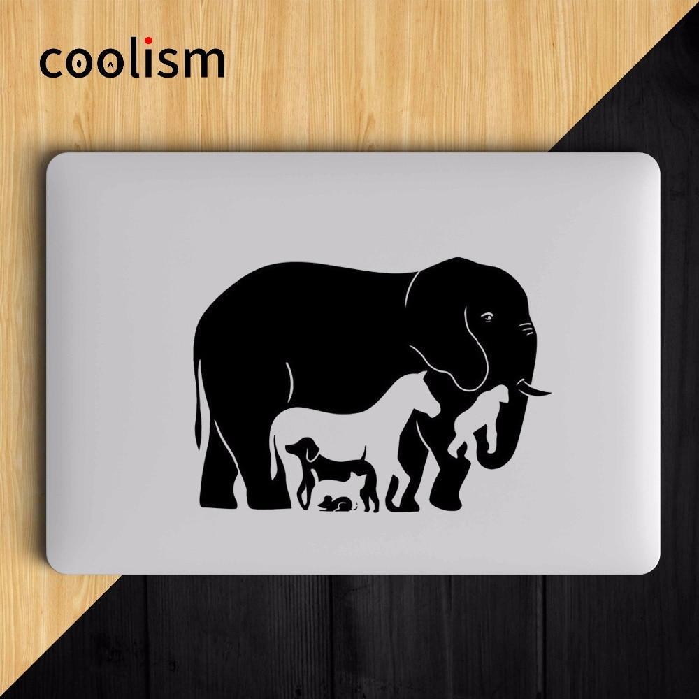 Funny Animals Mixed Combination Laptop Sticker for Apple MacBook Air Decal 13 Pro Retina 11 12 15 17 inch Mac HP Mi Skin Sticker