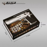 1/2.05 Desert Eagle Block Model Toy Gun Metal For Children Desert Eagle Pistola De Juguete De Metal Model Toys Revolver Gun