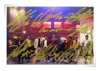 Super Junior SJ Su Ju Su Jr Autographed Signed Group Photo 6 Inches Korean Freeshipping 09